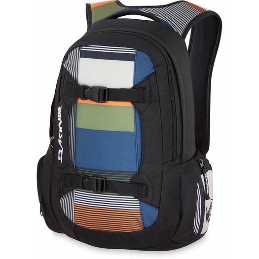 The Dakine Mission isn't just stylish but also produced in an eco friendly manner!